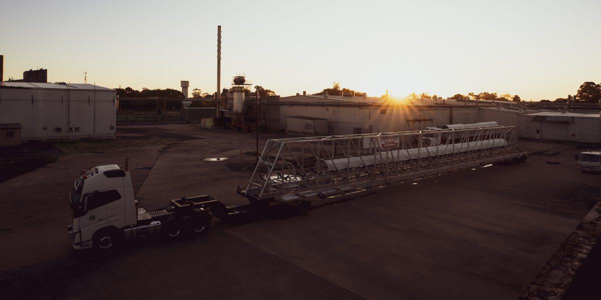 Steel fab transport